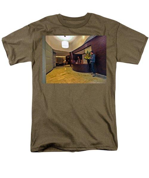 Cooper Lobby Men's T-Shirt  (Regular Fit) by Steve Sahm