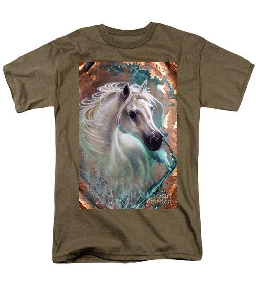 Copper Grace - Horse Men's T-Shirt  (Regular Fit) by Sandi Baker