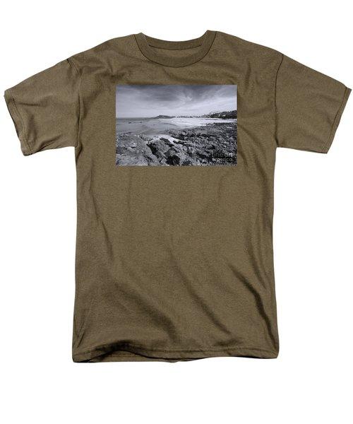 Cornwall Coastline 2 Men's T-Shirt  (Regular Fit) by Doug Wilton