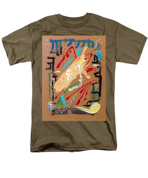 Men's T-Shirt  (Regular Fit) featuring the painting Cosmopolitan by Mary Carol Williams