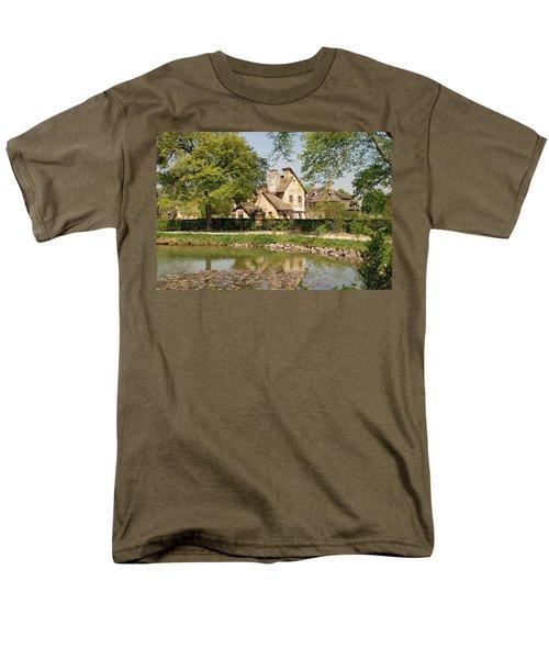 Men's T-Shirt  (Regular Fit) featuring the photograph Cottage In The Hameau De La Reine by Jennifer Ancker