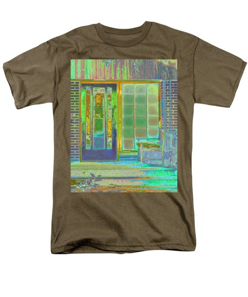 Cottage Porch Men's T-Shirt  (Regular Fit) by Don and Judi Hall