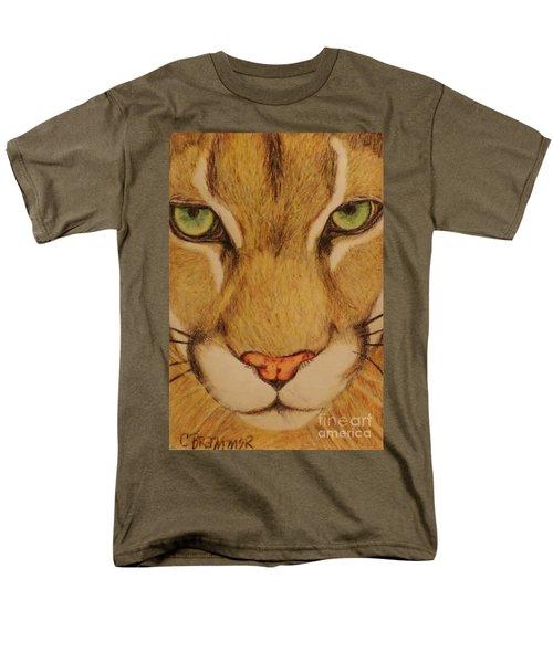 Cougar Men's T-Shirt  (Regular Fit) by Christy Saunders Church