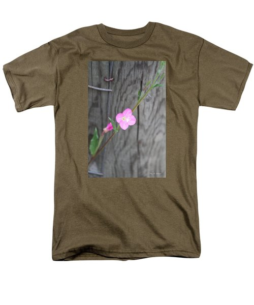 Men's T-Shirt  (Regular Fit) featuring the photograph Country Flower  by Amy Gallagher