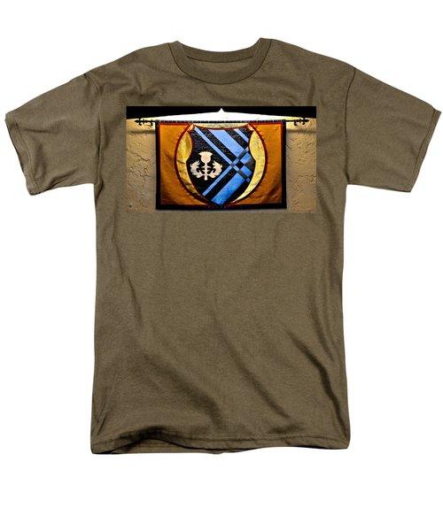 Covenant College Tartan Men's T-Shirt  (Regular Fit) by Tara Potts