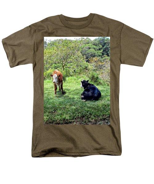 Men's T-Shirt  (Regular Fit) featuring the photograph Cow 4 by Dawn Eshelman