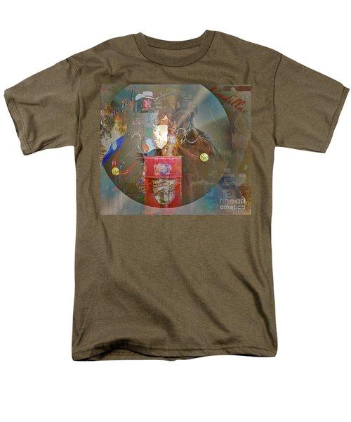 Cowgirl Cadillac Men's T-Shirt  (Regular Fit) by Mayhem Mediums