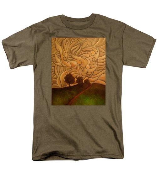 Crazy Sky Men's T-Shirt  (Regular Fit) by John Stuart Webbstock