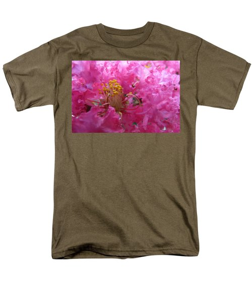 Crepe Myrtle In The Middle Men's T-Shirt  (Regular Fit) by Fortunate Findings Shirley Dickerson