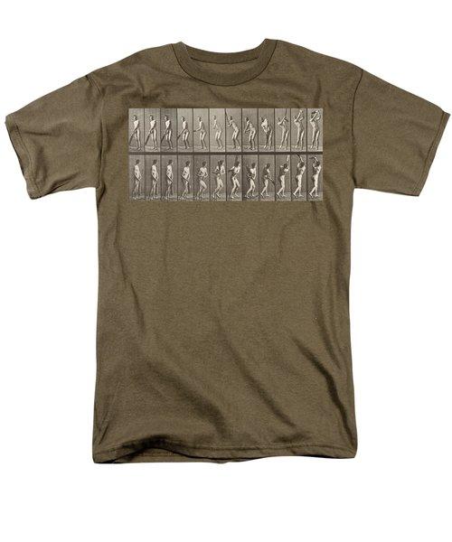 Cricketer Men's T-Shirt  (Regular Fit) by Eadweard Muybridge