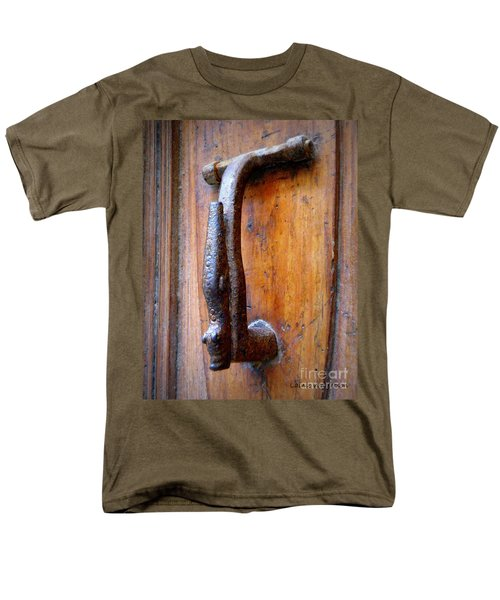 Crocodile Knock Men's T-Shirt  (Regular Fit) by Lainie Wrightson