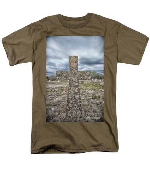 Cross With No Name Men's T-Shirt  (Regular Fit) by Erika Weber