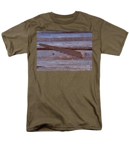 Crosscut Saw Men's T-Shirt  (Regular Fit) by D Hackett