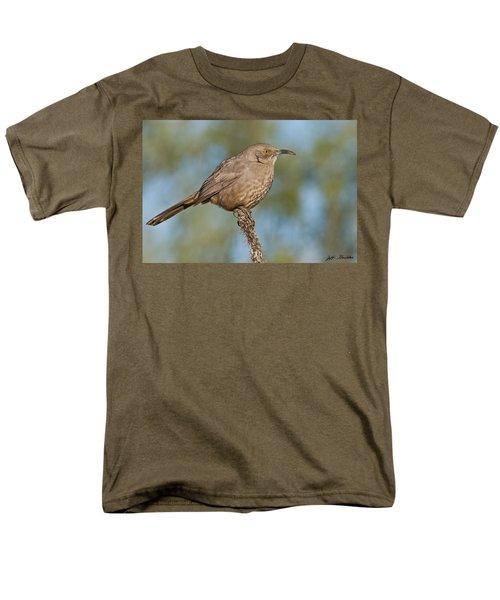 Curve-billed Thrasher Men's T-Shirt  (Regular Fit) by Jeff Goulden