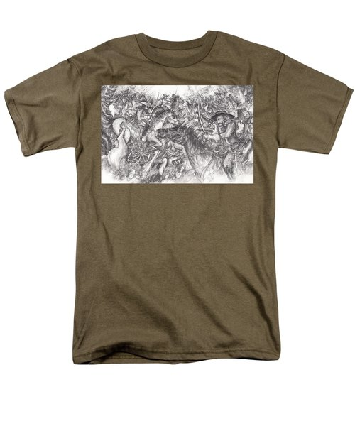 Custer's Clash Men's T-Shirt  (Regular Fit) by Scott and Dixie Wiley