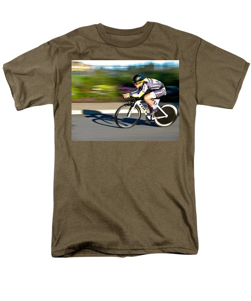 Men's T-Shirt  (Regular Fit) featuring the photograph Cycling Prologue by Kevin Desrosiers