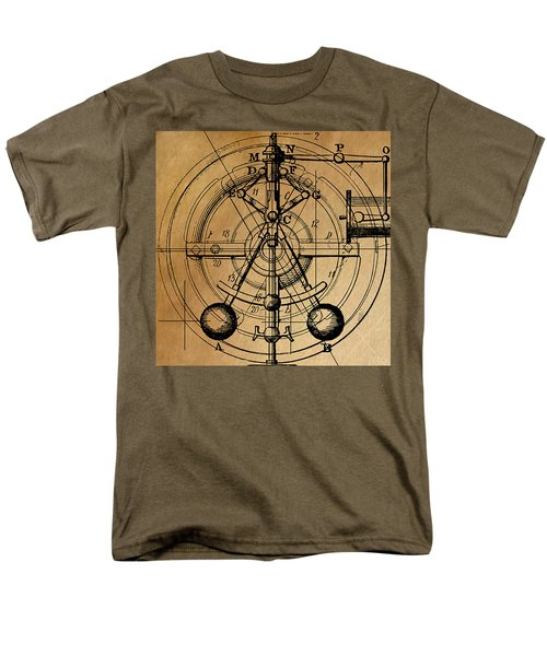 Cyclotron Men's T-Shirt  (Regular Fit) by James Christopher Hill
