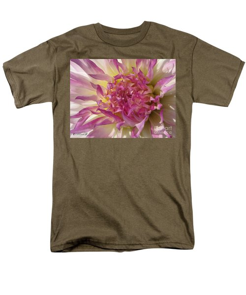 Men's T-Shirt  (Regular Fit) featuring the photograph Dahlia Named Angela Dodi by J McCombie