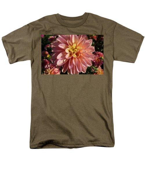 Men's T-Shirt  (Regular Fit) featuring the photograph Dahlia October by Susan Garren