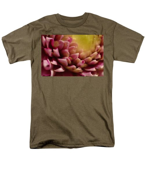 Dahlia Up Close Men's T-Shirt  (Regular Fit) by Michael McGowan
