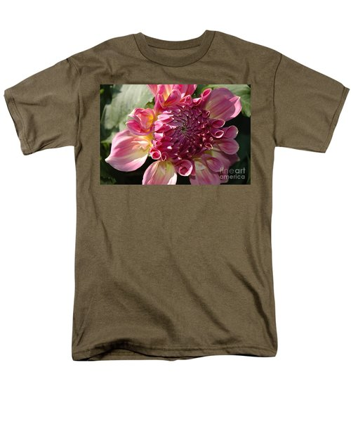 Men's T-Shirt  (Regular Fit) featuring the photograph Dahlia V by Christiane Hellner-OBrien