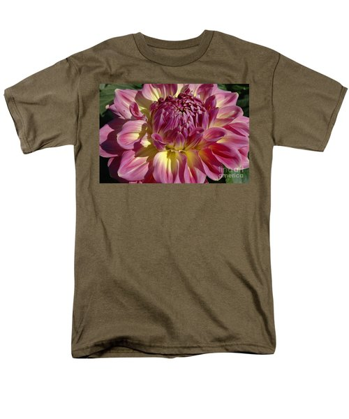 Men's T-Shirt  (Regular Fit) featuring the photograph Dahlia Vii by Christiane Hellner-OBrien