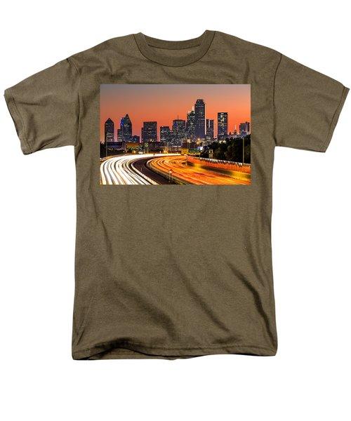 Dallas Sunrise Men's T-Shirt  (Regular Fit) by Mihai Andritoiu