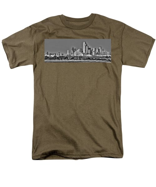 Dallas The New Gotham City  Men's T-Shirt  (Regular Fit) by Jonathan Davison