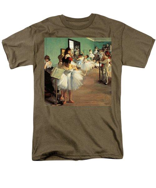 Dance Examination Men's T-Shirt  (Regular Fit) by Edgar Degas