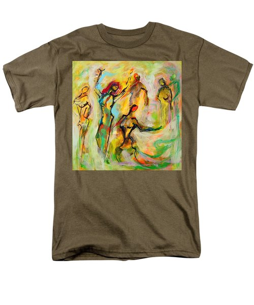 Dancers Men's T-Shirt  (Regular Fit) by Mary Schiros
