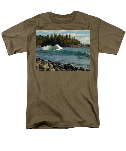 Men's T-Shirt  (Regular Fit) featuring the photograph Dancing Waves by James Peterson