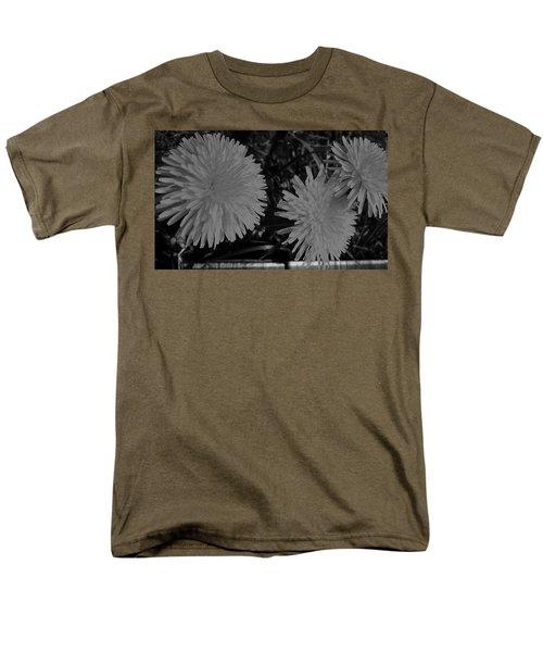 Dandelion Weeds? B/w Men's T-Shirt  (Regular Fit) by Martin Howard