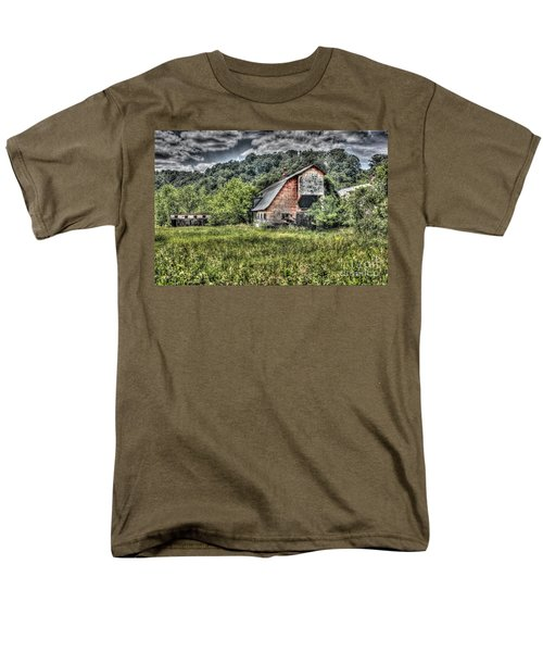Dark Days For The Farm Men's T-Shirt  (Regular Fit) by Dan Stone