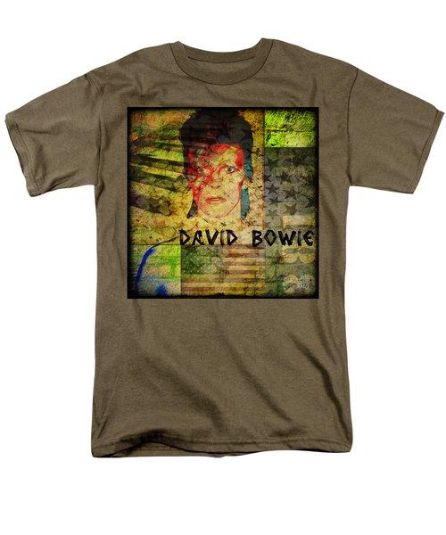 David Bowie Men's T-Shirt  (Regular Fit) by Absinthe Art By Michelle LeAnn Scott