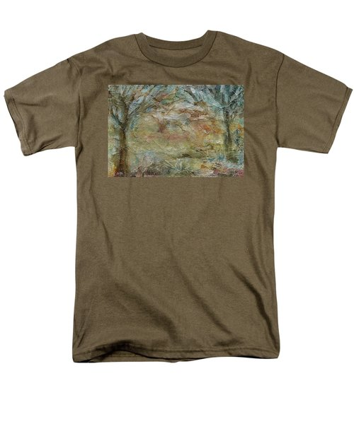Men's T-Shirt  (Regular Fit) featuring the painting Dawn 2 by Mary Wolf