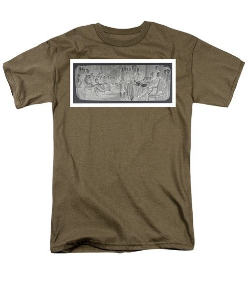 Declaration Of Independence In Negative Men's T-Shirt  (Regular Fit) by Rob Hans
