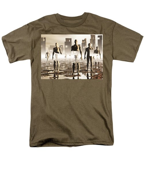 Deconstruction Men's T-Shirt  (Regular Fit) by John Alexander