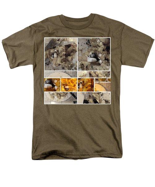 Men's T-Shirt  (Regular Fit) featuring the photograph Defense De Fumer Part One by Sir Josef - Social Critic - ART