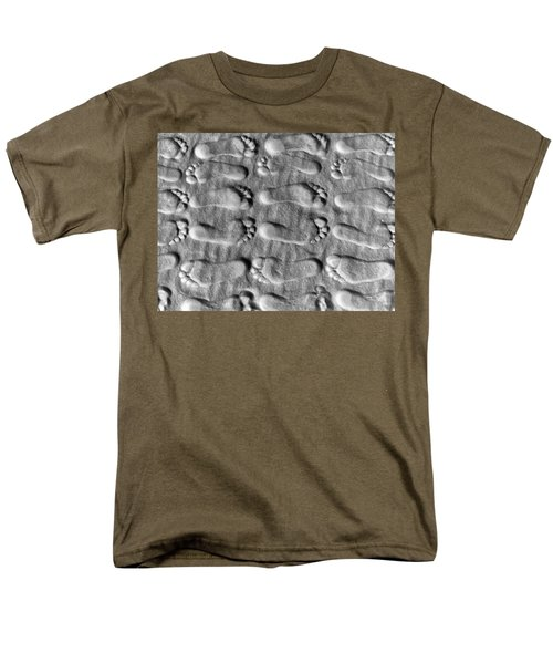 Deliberately Grainy Men's T-Shirt  (Regular Fit) by Charlie and Norma Brock