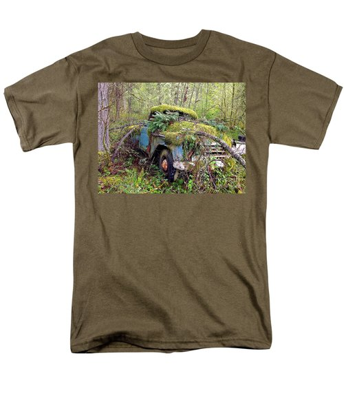 Men's T-Shirt  (Regular Fit) featuring the photograph Derelict by Sean Griffin