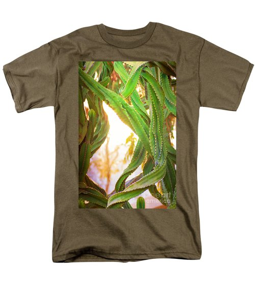 Desert Heat Men's T-Shirt  (Regular Fit) by Roselynne Broussard
