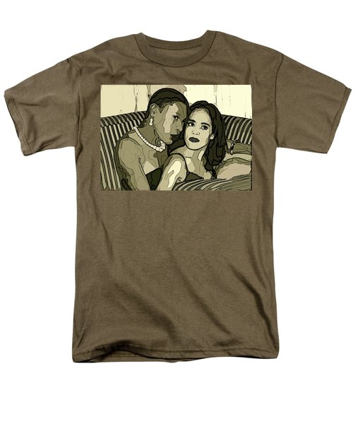 Men's T-Shirt  (Regular Fit) featuring the photograph Deux by Alice Gipson