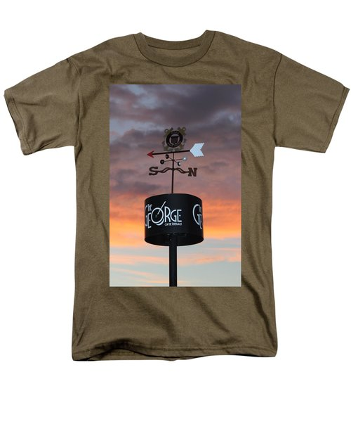 Men's T-Shirt  (Regular Fit) featuring the photograph Direction by Cynthia Guinn