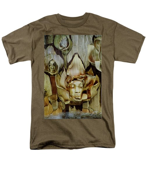 Men's T-Shirt  (Regular Fit) featuring the photograph Distortion by Penny Lisowski