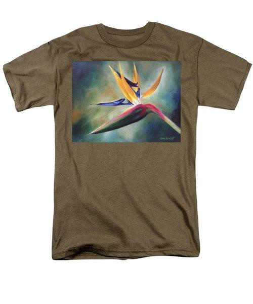 Men's T-Shirt  (Regular Fit) featuring the painting Dj's Flower by Lori Brackett