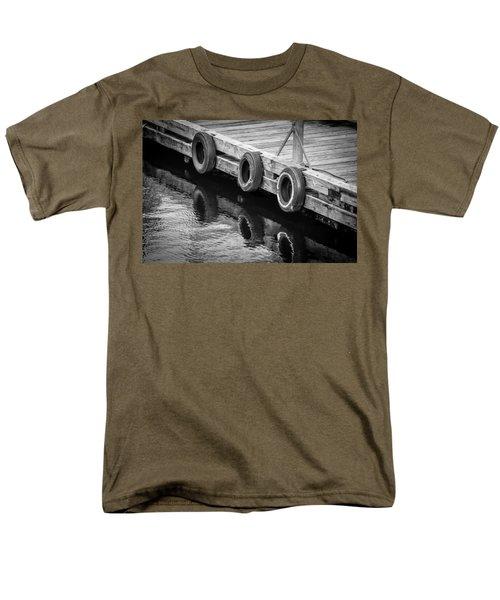 Dock Bumpers Men's T-Shirt  (Regular Fit) by Melinda Ledsome