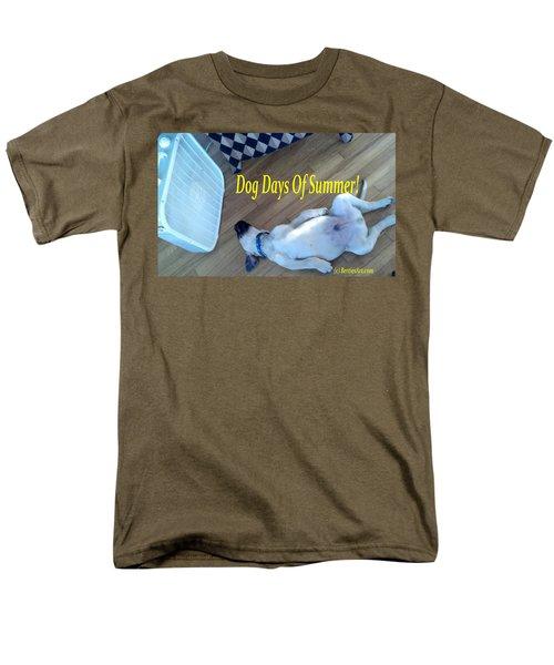 Dog Days Of Summer Men's T-Shirt  (Regular Fit)