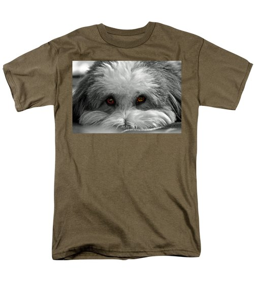 Men's T-Shirt  (Regular Fit) featuring the photograph Coton Eyes by Keith Armstrong