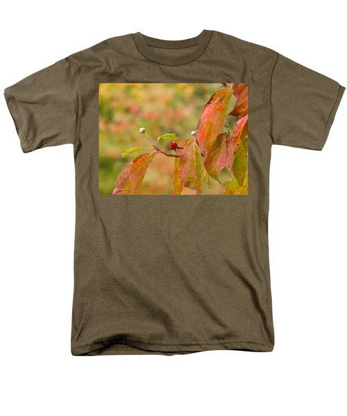 Men's T-Shirt  (Regular Fit) featuring the photograph Dogwood Berrie by Nick Kirby
