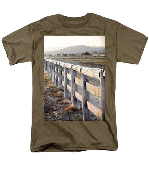 Don't Fence Me In Men's T-Shirt  (Regular Fit) by Holly Kempe